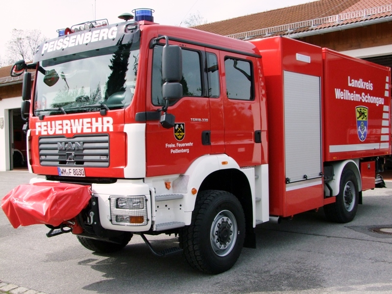 GW Logistik 56/1 – Freiwillige Feuerwehr Peißenberg